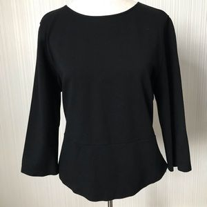 Lord & Taylor Peplum Style Blouse